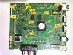 Sony Led Tv, Free Software Download Sites, Sony Electronics, Double Image, Tv Panel, Electronic Circuit Projects, Tv Services, Circuit Diagram, Wireless Speakers