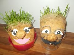 Planter Pots, Crafts For Kids, Jar, Easter, English Lessons, Advent, Education, Carnivals, Kids Arts And Crafts