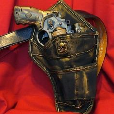Steampunk gothic Gun Holster BELT PostApocalyptic Zombie Fall out star wars--- DIRECTLY From YEAR  2053