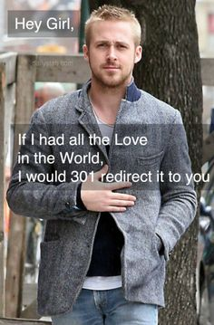 Hey girl, if I have all the love in the world, I would 301 redirect it to you http://www.seomoz.org/learn-seo/redirection