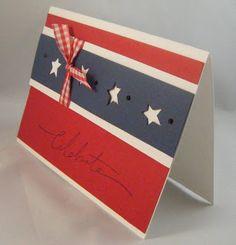 Fourth of July card idea