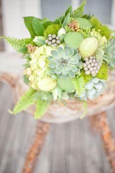 ... succulant bouquet
