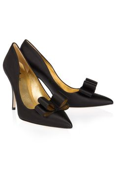 2f99284556bc Buy kate spade new york Women s Black Latrice Satin Heels.