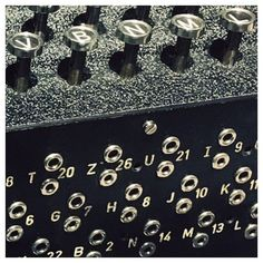 MUSEUM FÜR KOMMUNIKATION | 03 {Enigma Machine} #enigma #cryptography #analog