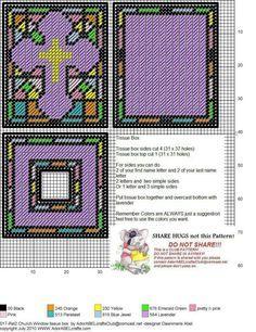 CHURCH WINDOW TISSUE BOX COVER by DAWNMARIE ABEL