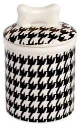 Houndstooth Medium Treat Jar