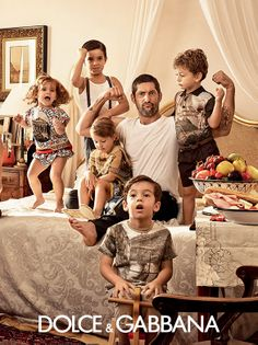 dolce and gabbana ss 2014 child advertising campaign 02