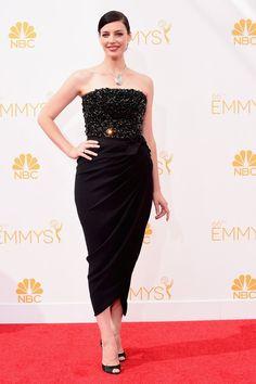 Pin for Later: Voilà ce Que Les Stars Ont Porté aux Emmy Awards Jessica Paré