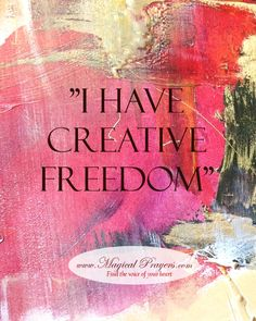 Unleash your creativity! Article on how to be creative in Complete Wellbeing Magazine - Magical Prayers