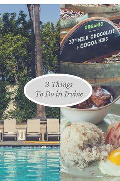3 Things to Do in Irvine, California via @fakefoodfree