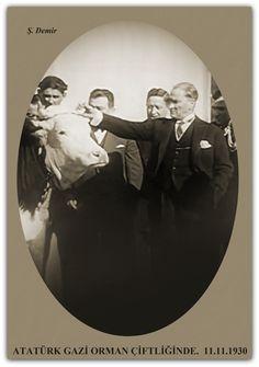 ATATÜRK GAZİ ORMAN ÇİFTLİĞİNDE. 11.11.1930