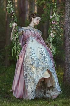 Fantasy becomes fashion with Firefly Path's uniquely designed and expertly crafted gowns and accessories. Foto Fantasy, Fantasy Dress, Fantasy Art, Fairytale Fashion, Fantasy Photography, Forest Fairy, Fantasy Costumes, Fancy, Costume Design