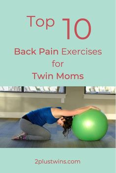 Are you experiencing back pain in pregnancy?Here are the Top 10 Exercises for Natural Pain Relief designed by a Physical Therapist you should include in your pregnancy workout routine! Twin Pregnancy Symptoms, Pregnancy Back Pain, Pregnancy Facts, Pregnancy Weight Gain, Pregnancy Timeline, Pregnancy Humor, Pregnancy Workout, Pregnancy Tips, Pregnancy Belly