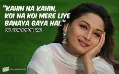 50 Bollywood Romantic Dialogues That Will Make You Fall In Love All Over Ag Romantic Dialogues, Love Dialogues, Famous Dialogues, Romantic Songs, Bollywood Posters, Bollywood Quotes, Love Romance Kiss, Filmy Quotes, Quotes About Everything