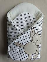 Textil - Zimné rýchlozavinovačka s medveďom na šnúre - 4791294_