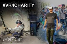 Virtual reality development company Showstorm has launched a competition this week challenging charities to take advantage of VR and VR