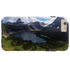 Glaicer National Park Hidden Lake Overlook Tough iPhone 6 Plus Case