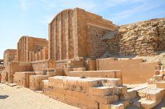 Saqqara, an ancient burial ground - Egypt