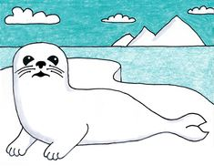 How to Draw a Seal · Art Projects for Kids