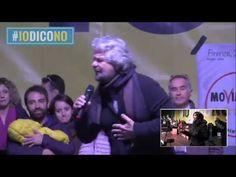 Beppe Grillo #IoDicoNo Torino 2 Dicembre