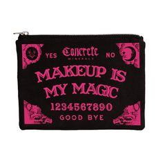 Picture of Ouija Makeup Bag | concreteminerals.com | Omg, this bag is so cute! I want it!