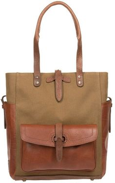 Will Leather Goods Canvas & Leather Ashland Tote