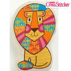 Lion King Cross Stitch Kit - New Cross Stitch Kits - Cross Stitch Kits I Love Cross Stitch