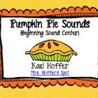 Free  This is a Common Core Aligned center to use during Fall or Thanksgiving. Students match beginning sound pumpkin to letter pie. Then they record t...