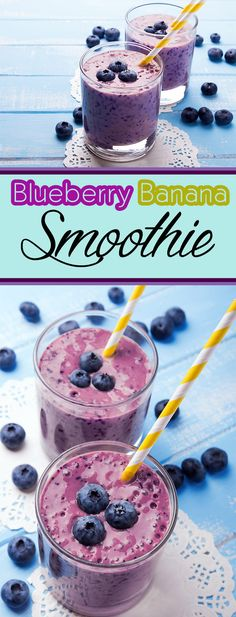 Blueberry Banana Smoothie Recipe – Exercise Diet Recipes