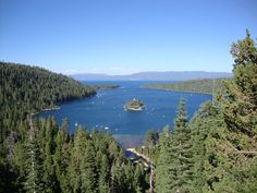 Lake Tahoe, California and Nevada border, USA