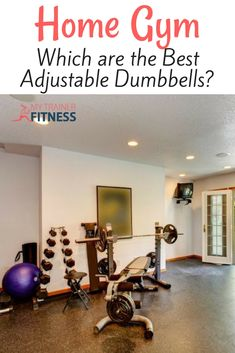 You need more options in less space for home gyms, so we looked at pros and cons of the best adjustable dumbbells. Adjustable Dumbbell Set, Best Adjustable Dumbbells, At Home Workouts For Women, Fun Workouts, Workout Routines, Home Gym Equipment, Trainer Fitness, Workout Fitness, At Home Gym