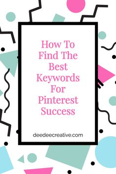 Want to know how to find the best keywords for Pinterest success? While gorgeous Pins are important on Pinterest, keywords on those Pins is even more important. So, what is the best way in which to search for relevant keywords? Learn all about keyword research by simply clicking through to read and learn more. Business Tips, Online Business, Virtual Assistant Services, More Words, Pinterest For Business, Blog Design, Pinterest Marketing, Girl Boss, Affiliate Marketing