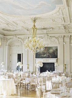 Glamorous Newport Wedding At Rosecliff Mansion