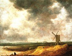 Jan van Goyen ( 1596 -1656) was een Nederlands landschapschilder uit de Gouden…