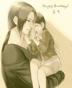 Happy Birthday Uchiha Itachi - Such a great uncle :'(
