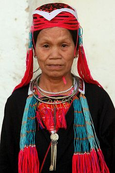 Grandmother from Vietnam - in her traditional clothing