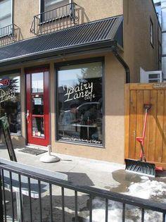RECOMMENDED for breakfast: Dairy Lane Milk Bar, Calgary, Alberta