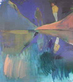 "Saatchi Art Artist Charlotte Evans; Painting, ""mirrored"" #art"