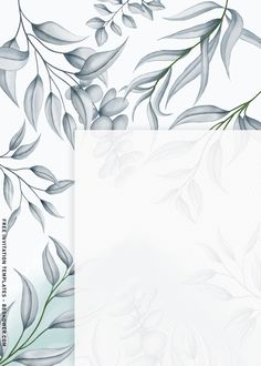 Flower Background Wallpaper, Background Pictures, Flower Backgrounds, Printable Baby Shower Invitations, Birthday Invitation Templates, Easy Watercolor, Floral Watercolor, Iphone Wallpaper Sky, Black And White Theme