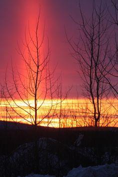 Labrador City Sunrise Sunrise City, Atlantic Canada, Newfoundland And Labrador, Amazing Sunsets, Prince Edward Island, New Brunswick, Salt And Water, Late Nights, Sunrises