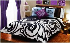 Best Seller Black and White Reversable Comforter Duvet 9 Pc Set/ King by Exotic Comforters. $195.99. reversable. the most exotic look. brings out the best in your bedroom. the perfect gift. machine washable. This exoctic comforter duvet comes with 9 pcs. Its just the perfect decoration for your bedroom Reversable Duvet, Comforter, 3 Shams, 3 Decorative Pillows, bedskirt.