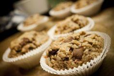 Cucinare con amore: Špaldové muffiny s čokoládou a ořechy