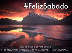 Que este día sea de bendición y que la paz de Dios pueda estar en tu corazón #FelizSabado