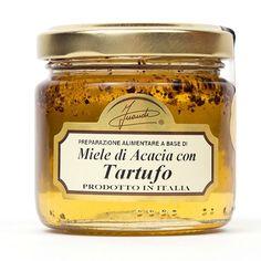 Miele d'Acacia al Tartufo Nero delle Langhe (1 x 120 g): Amazon.it: Alimentari e cura della casa
