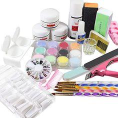 19PCS Acrylic Powder Nail Art set – USD $ 44.99