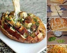 Receta para preparar Pan Sorpresa con instrucciones e ingredientes de Ainhoa  Allende en Cocina33