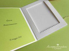 Card porta foto per Comunione - La Coppia Creativa
