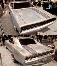 "Jaw-dropping Dodge Charger RTR ""Under Construction"" Jaw-dropping Dodge Charger RTR…. Brought to you by agents of at for Ram Cars, 1968 Dodge Charger, Charger Rt, Dodge Muscle Cars, Automobile, Old School Cars, Sweet Cars, American Muscle Cars, Car Manufacturers"