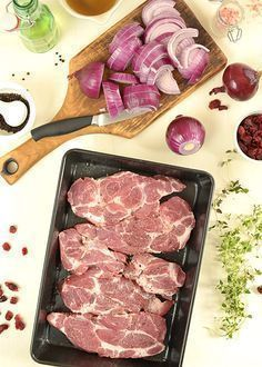 Meatball Recipes, Beef Recipes, Cooking Recipes, Polish Recipes, Polish Food, Brunch, Pork Dishes, Lunches And Dinners, Carne