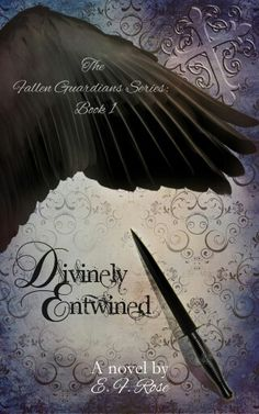Cover reveal for Divinely Entwined, my debut novel ♡